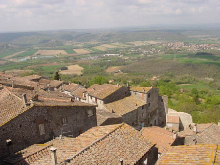Italy view from the castle bedroom image