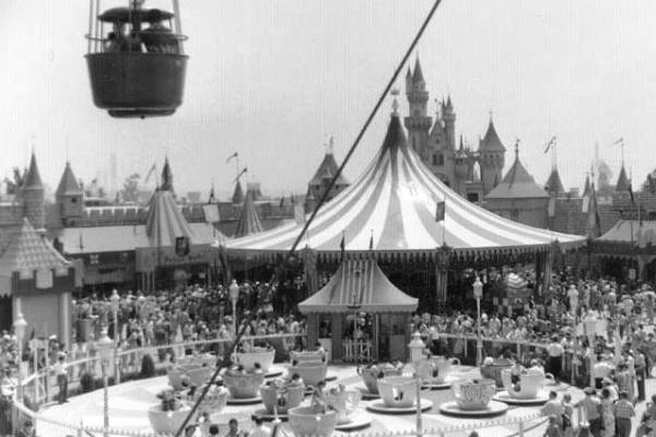 Disneyland 1955 Sky Ride