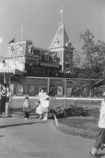 Disneyland 1955 Train Station
