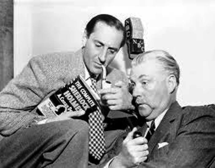 United Vintners Sherlock Holmes Old Radio image