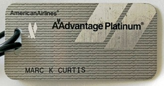 I Dug a Hole to China AAdvantage Platinum Batggage Tag