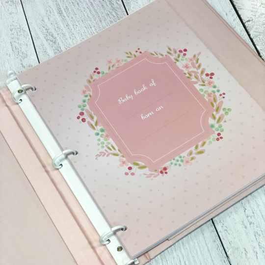 Baby-Memory-Book-KBRE-24G-inside