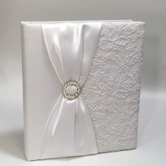 AR11-107-White-Matte-Satin-with-White-Lace-and-Rhinestones