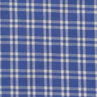 Fabric-Swatch-Cotton-Blue-Plaid-Cotton