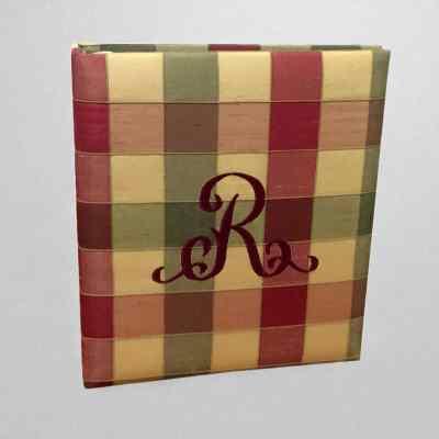 AR11-PC7-Multicolored-Plaid-Silk-Style-8-Burgendy-Thread