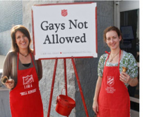 Salvation Army : Gays Deserve To Die!