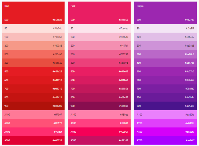 md-colors