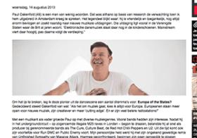 Interview Paul Oakenfold