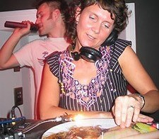 First Gig dj Audrey Clarke aka Lady Ace