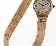Stoere horloges van bamboe