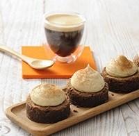 Heerlijke mini espresso brownies