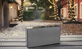 Draagbare draadloze speakers