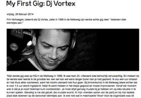 First Gig: DJ Vortex