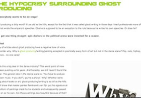 Blog: the hypocrisy surrounding ghost producing