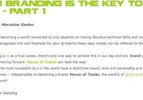 Branding is the key to DJ-success! – part 1