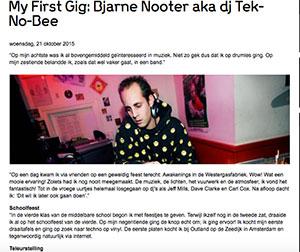 my-first-gig-Tek-No-Bee
