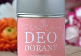Natuurlijke poederdeodorant