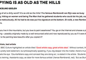 Zart-blog: Copying is as Old as the Hills