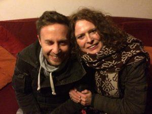 Tom Hades in Marceline's home in Zaandam