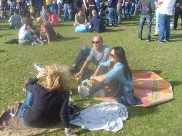 DJ Kiki Tao and Marceline in Westerpark 2012