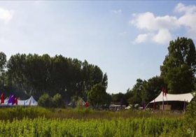 The Promised Land Open Air: ouderwets gezellig 't'house komen