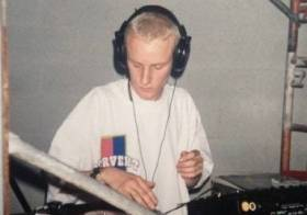 My first Gig DJ/producer Rennie Foster (Canada)