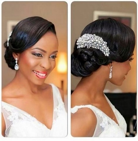 coiffure afro americaine pour mariage
