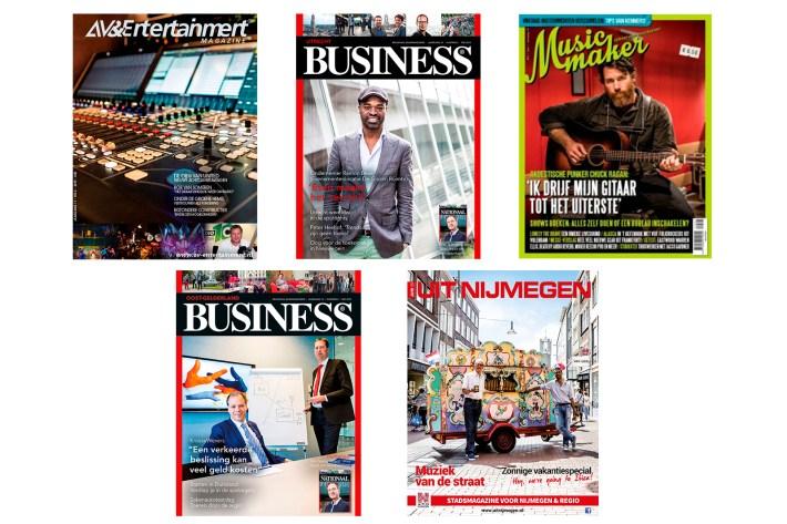 Coverfoto's tijdschriften