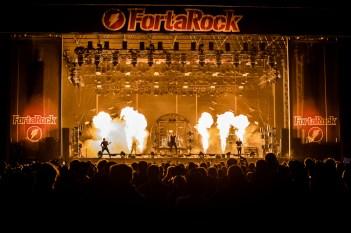 fortarock, Fortarock 2018: variatie en vlammend