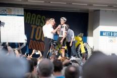 wielrennen, Daags Na De Tour: na drie weken rond in Frankrijk gaan de wielrenners rond om de kerk