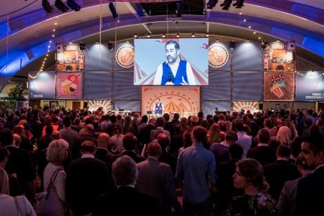 Klaas Dijkhof op het VVD festival door Marcel Krijgsman