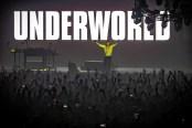 underworld, Underworld live at Wembley Arena London: dance, dance, dance