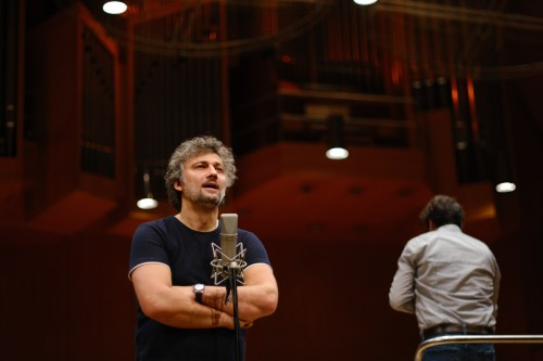 Jonas Kaufmann during Rehearsal at the Gasteig München