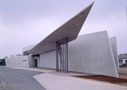 Vitra fire station©Zaha Hadid Architects
