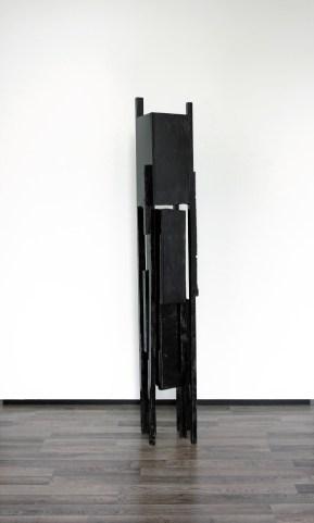 Zaagtoren (Joen) - 200 x 31 x 32 cm - mixed media