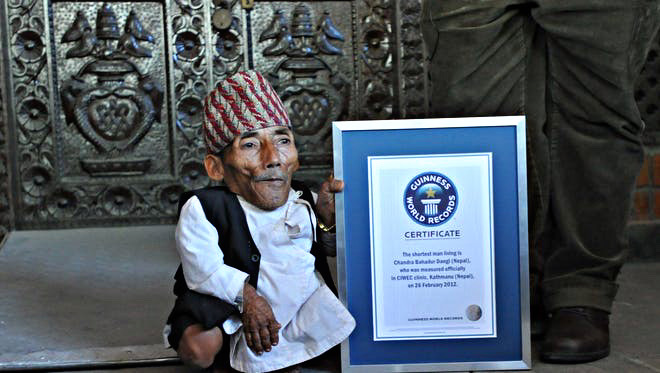 Top 5 Shortest Men in The World and Their Height