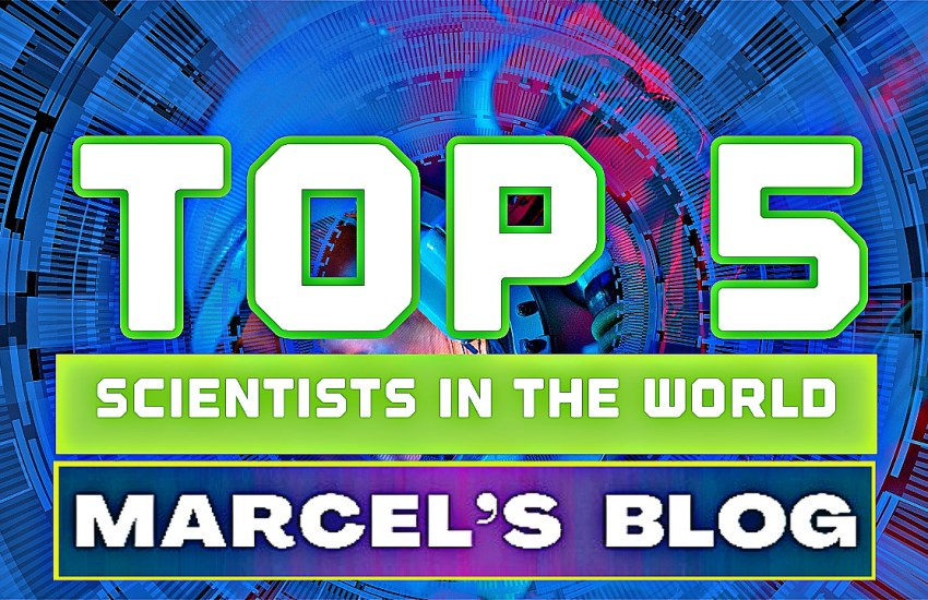 Top 5 Scientists in The World