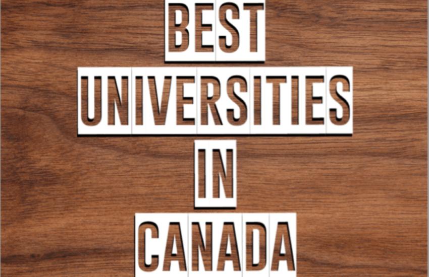 Top 10 Best Universities In Canada