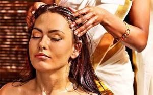 Hair Oil Backrub