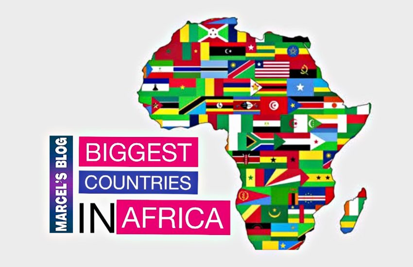 The Biggest Country in Africa - List of African Countries By Size