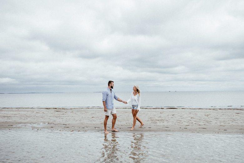 Hochzeitsfotograf Ostsee Ruegen Usedom Strand Paarshooting Engagement 022 Eine kleine Ostseebriese - Kennenlernshooting am Strand