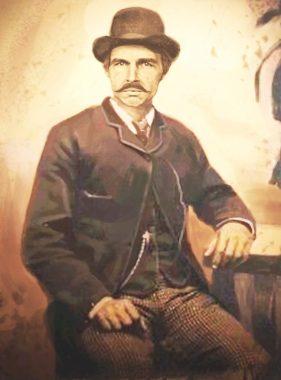 Portrait de Silas Robinson