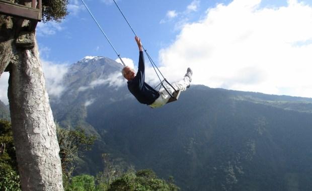 Crossen door Ecuador met de oudjes!