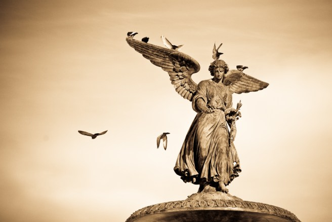 Angel of the Waters, Bethesda fountain, Central Park, NYC