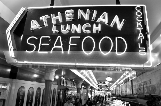 Seattle Pike Place Market Lunch
