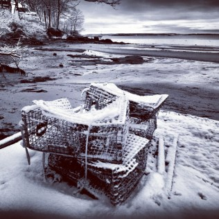 A Lobsterman's Chilly Maine Winter
