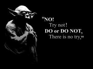 "MFM, Marc Frank Montoya - No ""try"", only DO"