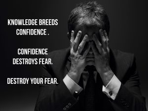 Knowledge breeds confidence