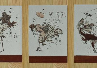 Vent soudain – Hokusai