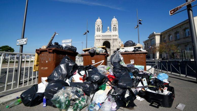 Rats et éboueurs à Marseille